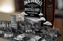 Jack Daniel's AR app turns whiskey bottles into pop-out storybooks