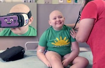 CHOA using virtual reality to help young cancer patients