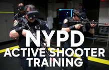The NYPD is testing virtual reality training drills for real-life scenarios like active shooters