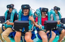 Roller coasters get real about virtual reality