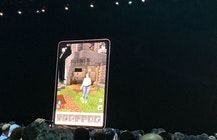 Microsoft unveils Minecraft AR at Apple's WWDC