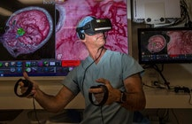 Surgeons use virtual reality to fly through patients' brains at Hoag Hospital