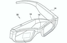 Samsung seeks patent on folding AR glasses with frame-activated screen