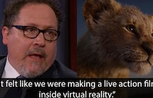 'Lion King' director Jon Favreau explains how they used VR to make the movie