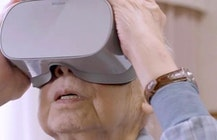 Virtual reality helps Japan's elderly travel the world