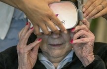Virtual reality lets seniors travel without leaving home