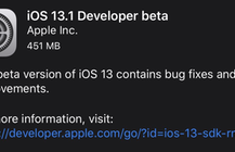 Apple unexpectedly releases iOS 13.1 developer beta before finalizing iOS 13
