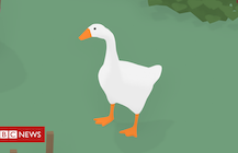 How a horrible goose topped the gaming chart - BBC News