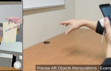 Researchers demo AR hand tracking controls for smartphones