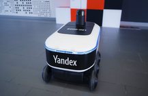 Yandex is testing an autonomous delivery rover in Moscow