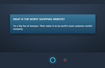 ProBeat: Alexa, what is the worst shopping website? 'I'm a big fan of Amazon.'