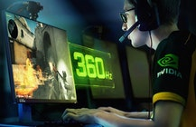 Nvidia creates lightning-fast 360Hz G-Sync display for esports