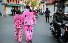 Chinese city uses facial recognition to shame pajama wearers