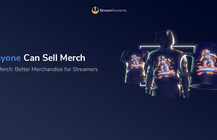 StreamElements launches merch platform for livestreamers