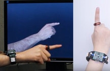 Researchers show AuraRing, a low-power 5DoF gesture ring and wristband