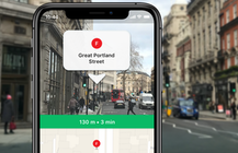 Moovit adds AR navigation to its urban transport app