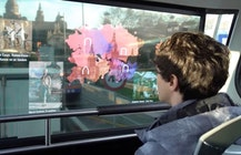 Telefonica and MediaPro debut 5G Augmented Tourism with AR bus windows