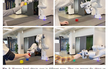 Nvidia researchers use AI to teach robots how to hand objects to humans