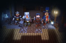 Minecraft Dungeons builds a May 26 release date