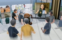 Spatial gives enterprises free access to holographic AR/VR meeting app
