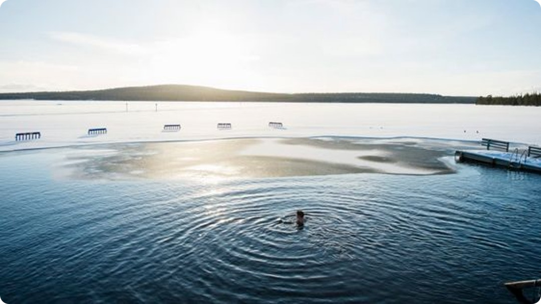 Ice swimming in Finland: Is that why it's the happiest country?