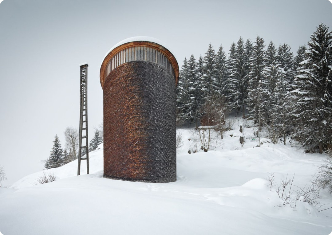 Saint Benedict Chapel by Peter Zumthor