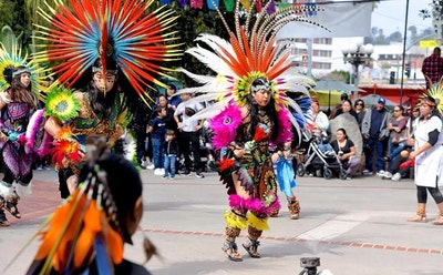 For Danza Azteca Groups, Dancing is Prayer and Protest in Motion