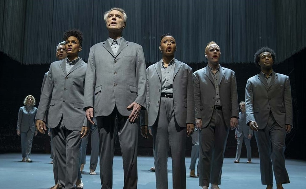 "David Byrne and Spike Lee Consider the Oxymoron of ""American Utopia"""
