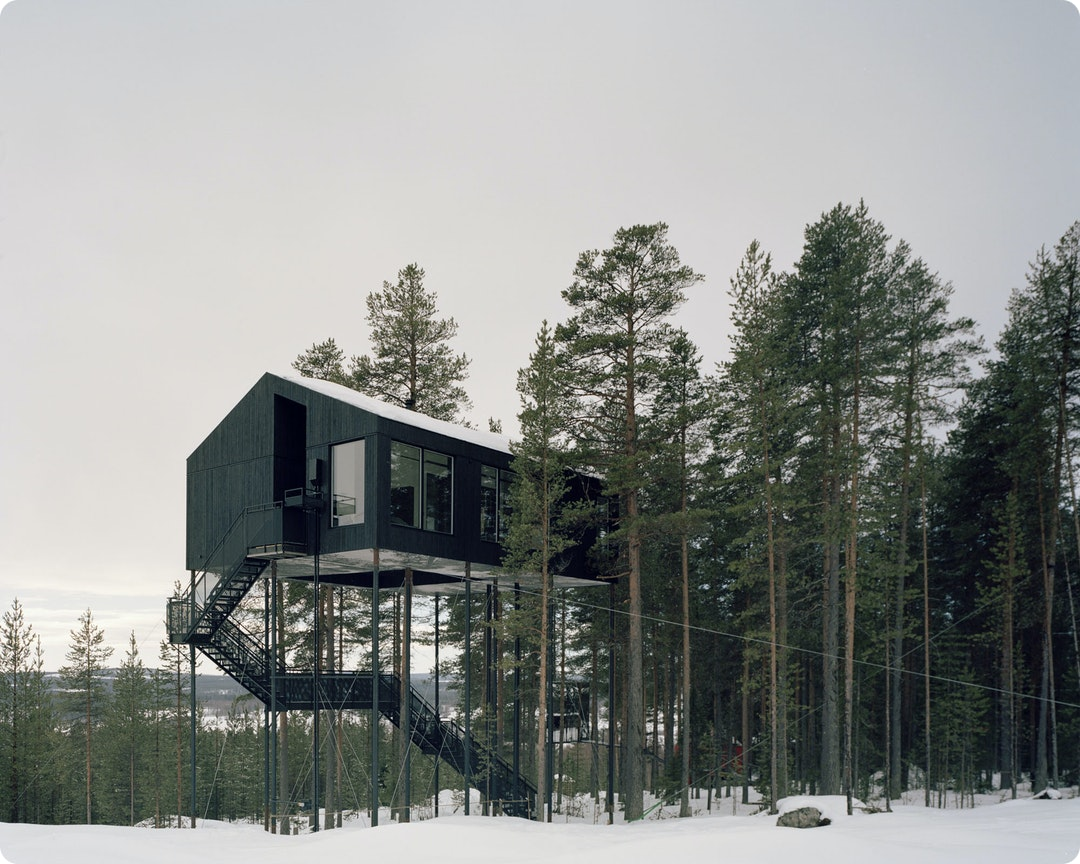 The 7th Room at the Treehotel by Snøhetta