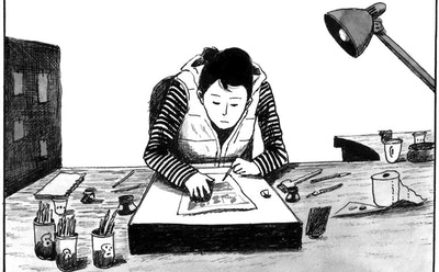 A Comic Tells the Rebellious, Messy Lives of Teenagers