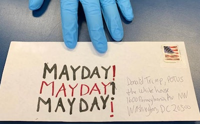 "Susan Silton's '""Mayday! Mayday! Mayday!' Shines the Light on COVID Victims While Supporting Postal System"
