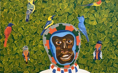 Peter Williams's Afrofuturist World and Its Cyclones of Color