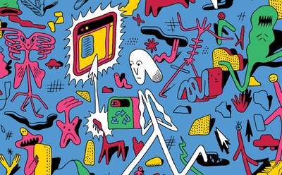 "Enter Michael DeForge's World, Where People and Places Alike Get Constant ""Updates"""