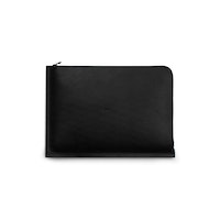"C4 Leather MacBook Pro 13"" Case Black"