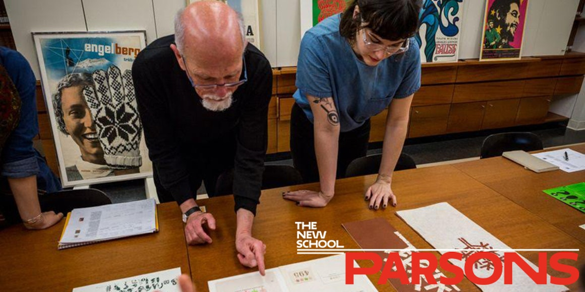Master's in History of Design and Curatorial Studies at Parsons in NYC