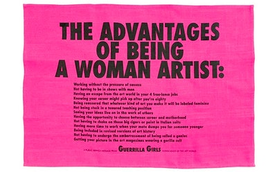 Guerrilla Girls Tea Towel