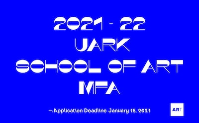 Join the Fully Funded MFA Studio Art Program at the University of Arkansas School of Art