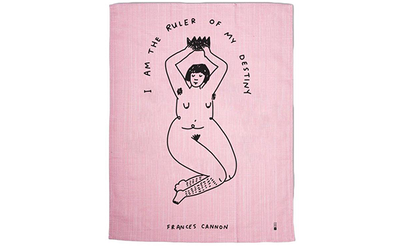 Ruler of My Destiny Tea Towel