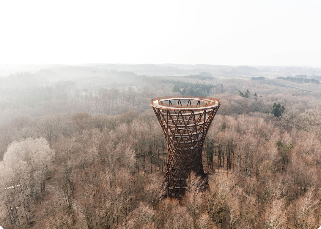 Camp Adventure Observation Tower by EFFEKT