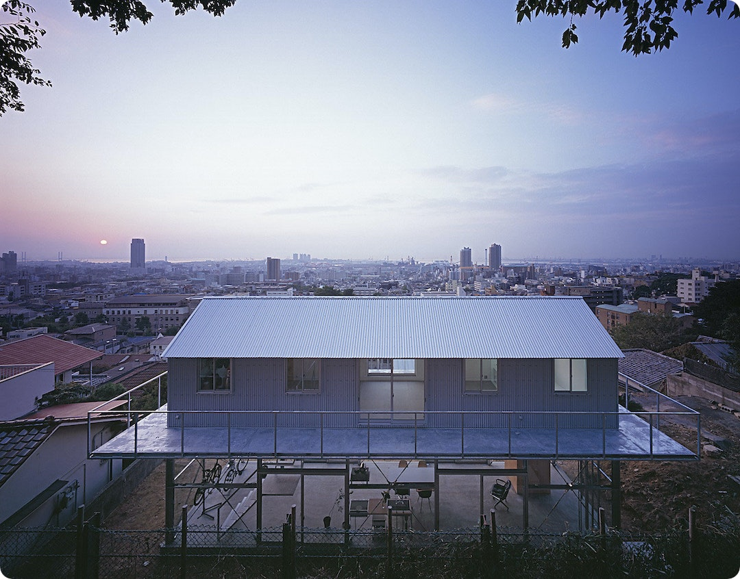 House in Rokko by Tato Architects