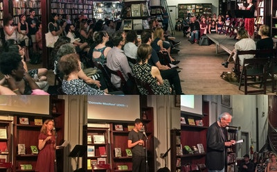 John Yau, Jillian Steinhauer, and Others at Hyperallergic's First-ever Public Reading