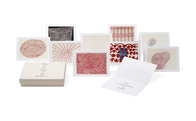 Louise Bourgeois Notecards