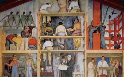 Plan to Sell Diego Rivera Mural at San Francisco Art Institute Draws Backlash