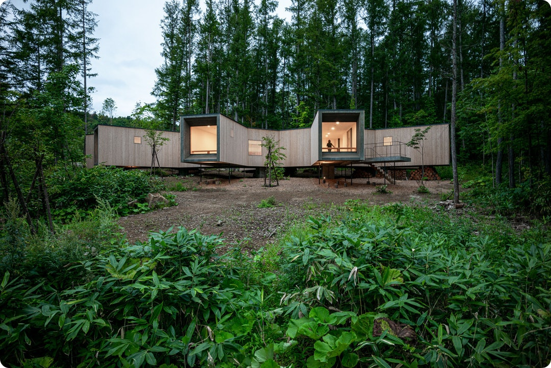 House in the Forest by Florian Busch Architects