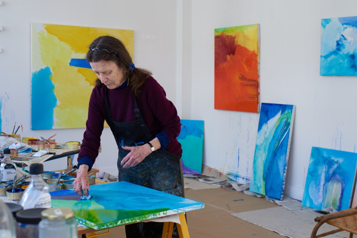 With a Room of Her Own, Emily Mason's Ethereal Abstractions Bloomed
