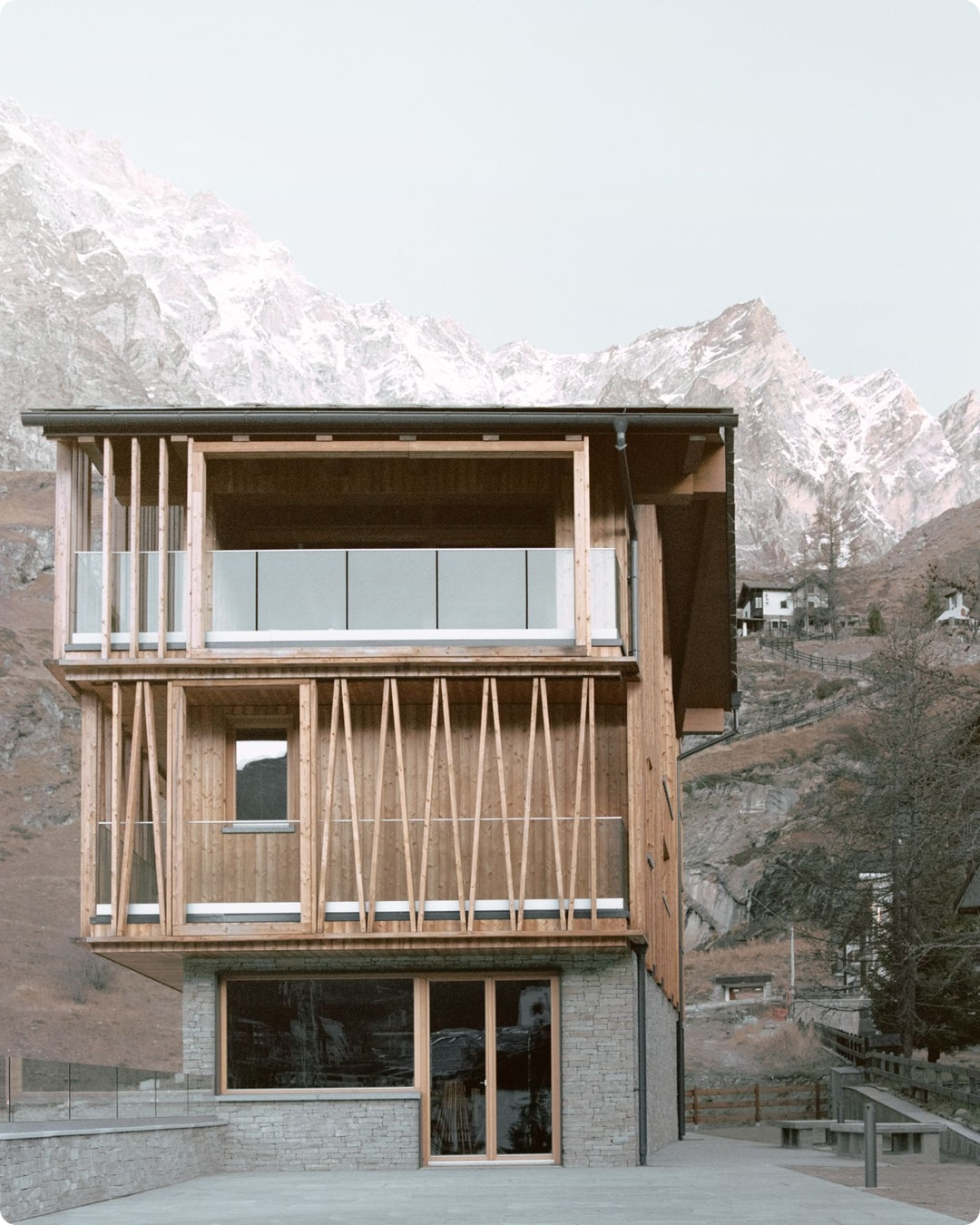 The Climber's Refuge by LCA Architetti