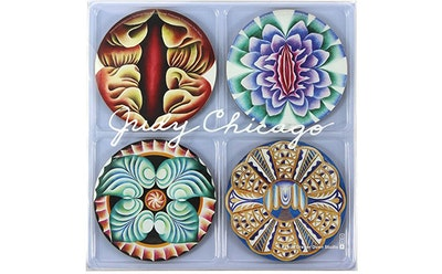 """The Dinner Party"" Coaster Set x Judy Chicago"