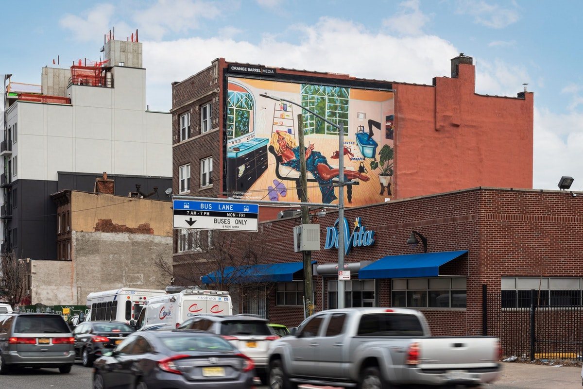 Bold Colors and Surreal Compositions Upend the Monotony of Commercial Billboards