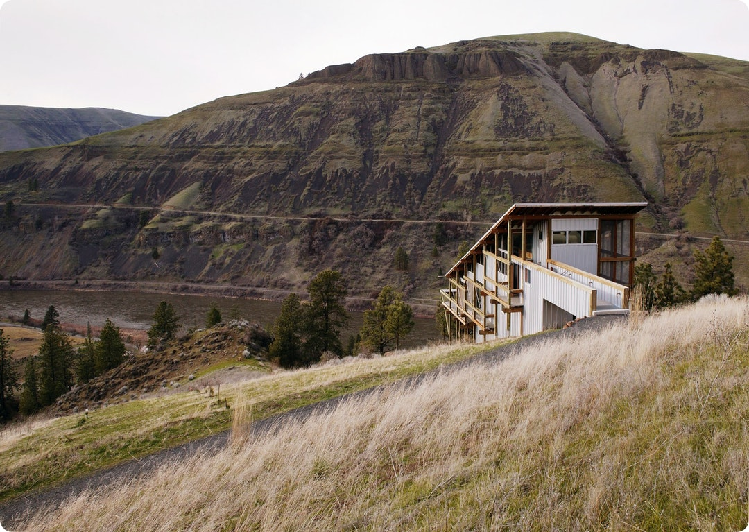 Canyon House by Paul Hirzel