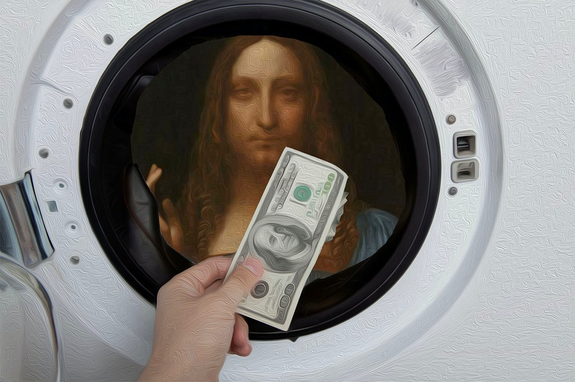 Christie's Launches Streaming Service That Allows You to Watch Money Being Laundered in Real-Time